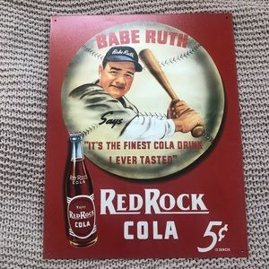 Other - Old fashioned Tin Sign Babe Ruth